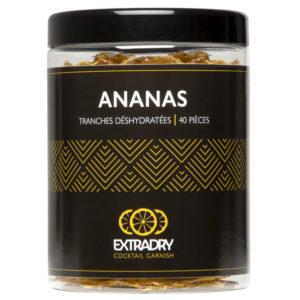 Ananas déshydratés – 40 tranches