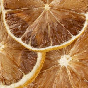 Citron jaune déshydraté