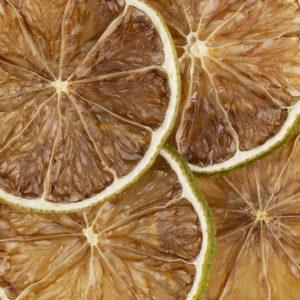 Citrons verts déshydratés